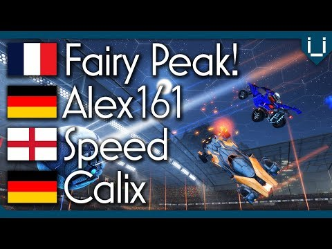 Fairy Peak (Rank 1) vs Alex161 (Rank 41) vs Speed (Rank 97) vs Calix | Pro 2v2 Lobby