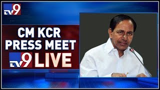 CM KCR Press Meet LIVE After Cabinet Meeting @ Pragathi Bhavan - TV9
