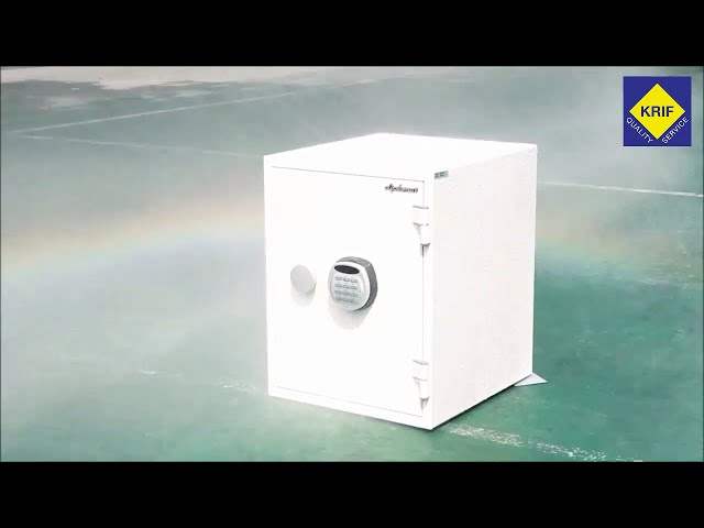 Watch the strongest fire and burglar proof Safe in the world!!!