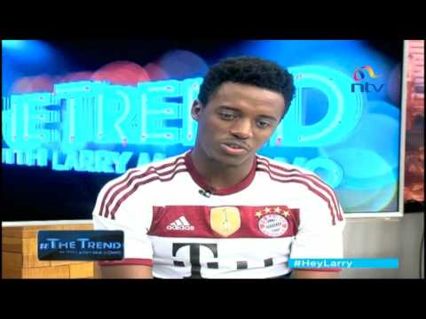 #theTrend: Romain Virgo opens up about his music, emotions and coming to Kenya