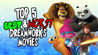 Jambareeqi's Top 5 Best & Worst Dreamworks Animation Films