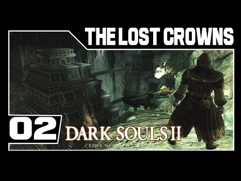 Dark Souls 2: Crown of the Sunken King DLC Part 2 - Esse Lugar é Troll