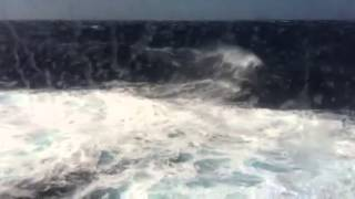 Rough Waves Mediterranean Sea