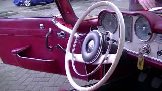 Mercedes Benz 230SL Pagode 1964 driving projectcar - VIDEO - www.ERclassics.com