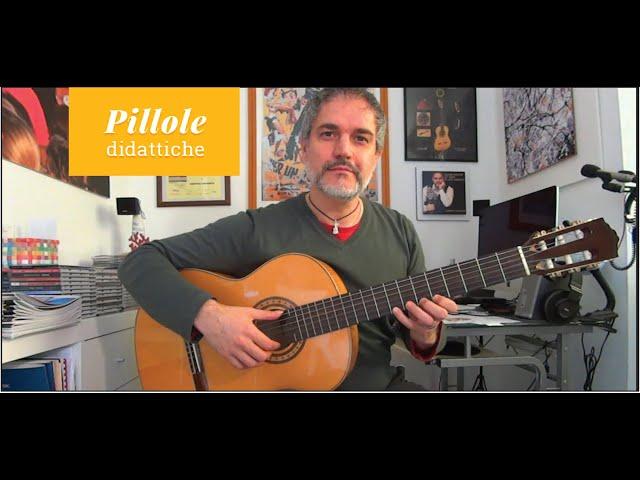 La tecnica del legato discendente sulla chitarra classica - consigli pratici | Gabriele Curciotti