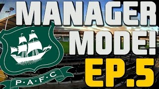 STILL INCONSISTENT?? Plymouth Argyle Manager Mode! Fifa 16 #5