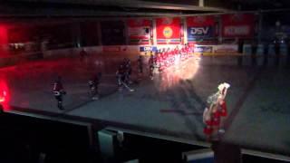 Nuorten SM-liiga HIFK-Jokerit 12.9.12 - mestaruusviirin paljastus