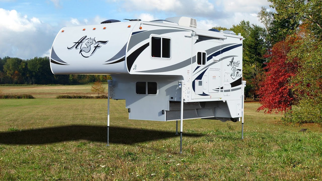 Lastest Quick Tour Of The Arctic Fox 996 Pickup Camper - YouTube