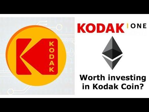 Kodak Using Ethereum Smart Contracts - Kodak Coin ICO (KodakOne) - Worth Investing In?