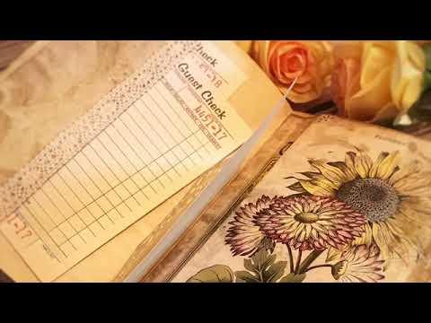 "Junk journal tutorial in italiano #19 decorazioni junk ""girasole"" from YouTube · Duration:  14 minutes 53 seconds"