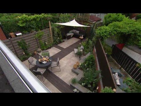 De moderne tuin in barendrecht eigen huis tuin youtube