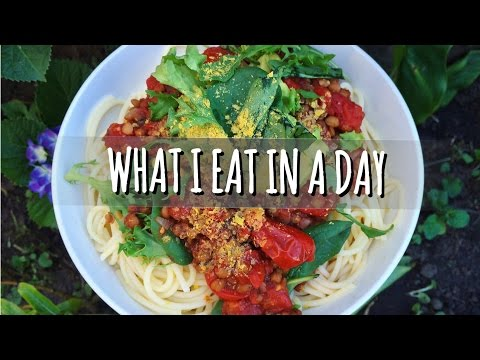 WHAT I EAT IN A DAY #4   VEGAN