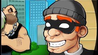 ВОРИШКА БОБ Побег из тюрьмы #5 Мультик игра для детей Robbery Bob мультяшная видео игра
