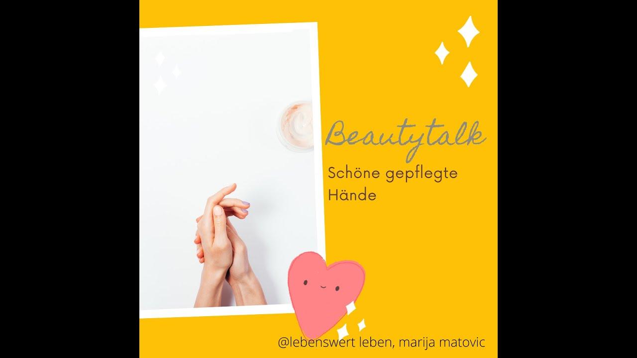 Schöne Hände sind die Visitenkarte eines Menschen.