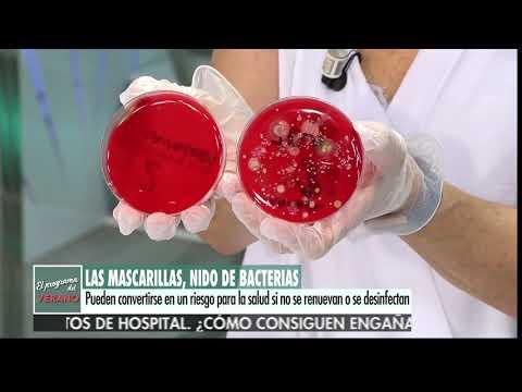 Bacteriën in mondkapjes - zet ondertiteling aan voor NEDERLANDSE VERTALING!