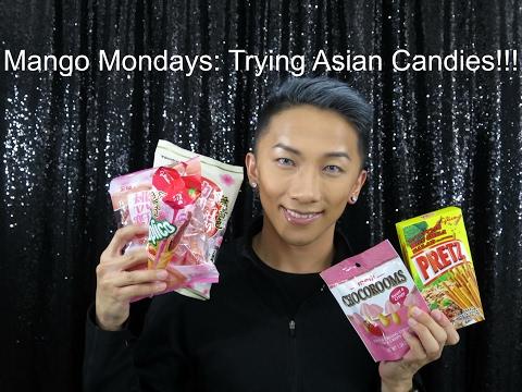 Mango Monday: Trying Asian Candies!!!