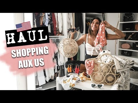 HAUL & TRY ON MAI 2018 - Spécial shopping aux US !!!