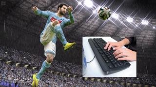 Как настроить управление в Fifa под привычную на клавиатуре. Советы