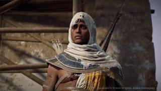E3にて『アサシン クリード オリジンズ』をプレイ。プレイ動画として...