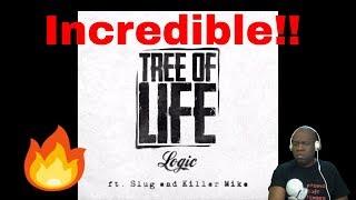 Logic ft. Slug & Killer Mike - Tree Of Life (Reaction)