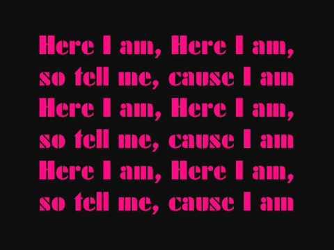 Nicki Minaj - Here I Am(LYRICS)(PINK FRIDAY)
