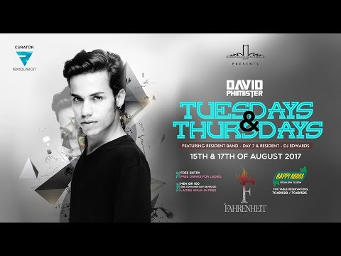Rextaurean   DJ David Phimister   Fahrenheit - August 2017