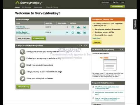 Survey Monkey Demo