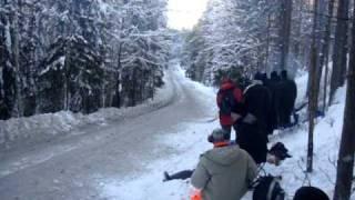WRC RALLY SWEDEN 2011 SS6 LIKENAS