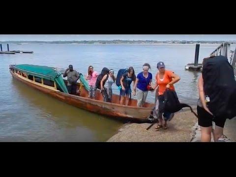 Sailing to French Guiana