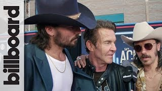 Midland & Dennis Quaid Talk Working Together on 'Mr. Lonely' Video | ACM Awards