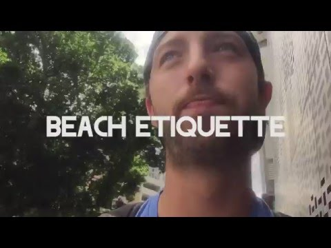 The Weekly Coop #9 - Beach Etiquette