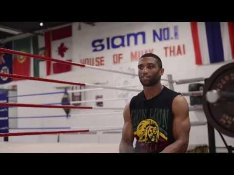 GLORY Last Man Standing - Simon Marcus Pre Fight Interview