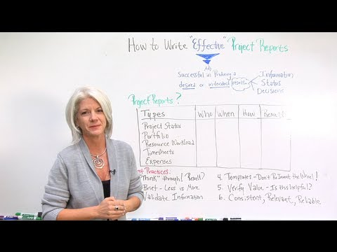 How to Write Effective Project Reports - YouTube