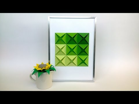 DIY Wall Decoration Idea - Easy Room Decor of Paper from Creative Paper