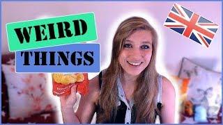 Random weird things in England