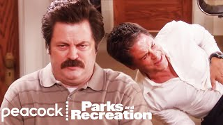 Ron Swanson Gets Food Poisoning - Parks and Recreation