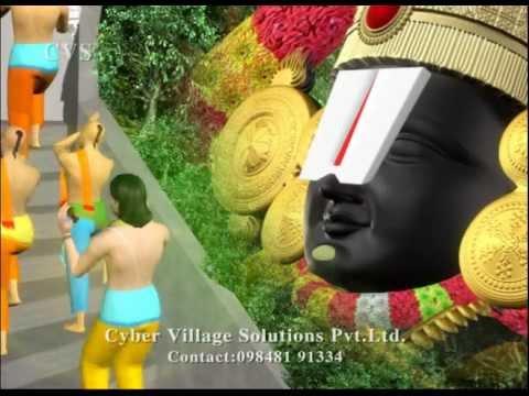 Srinivasa Govinda 3 -Sri Venkatesam Sri Srinivasam Manasa Smarami  3D Animation Vishnu Bhajan Songs