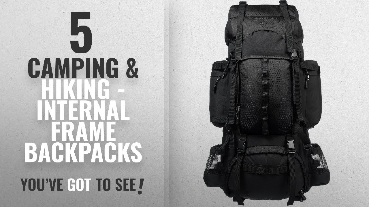Top 10 Camping & Hiking - Internal Frame Backpacks [2018 ...