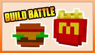 McDonalds Happy Meal! - BUILD BATTLE - Minecraft