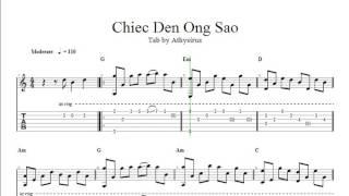 Chiếc Đèn Ông Sao ( Phạm Tuyên ) - TAB Guitar Athysirus