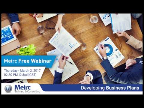 Developing Business Plans | Planning and Strategy Management | Dubai | Meirc
