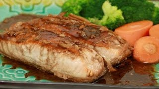 Salmon Teriyaki With Savory & Sweet Teriyaki Sauce