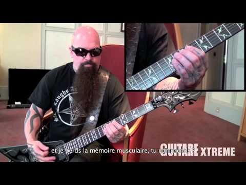 Kerry King (SLAYER) - Guitare Xtreme #70