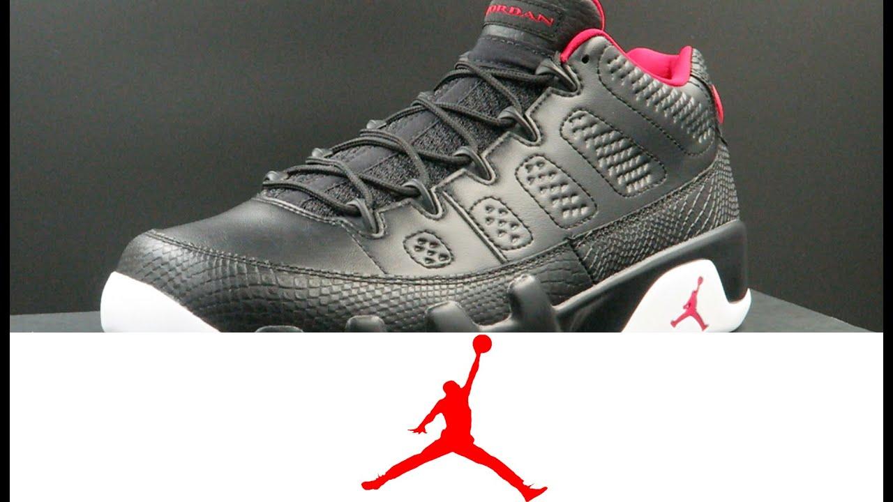 c69f1d0764a7 Air Jordan 9 Retro Low Black  Red. WearTesters