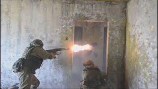 Учение подразделений спецназа ЦВО под Самарой