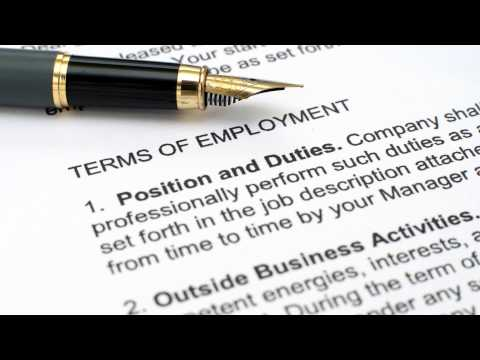 Changes to Employment Terms and Conditions