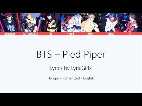 BTS - Pied Piper LYRICS ll LyricGirlx