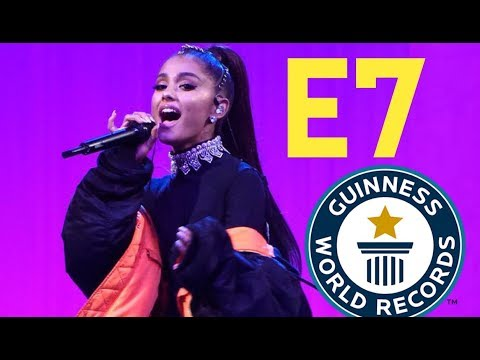Ariana Grande Breaks Record For Highest Note Ever Sung Live (Chest Register)
