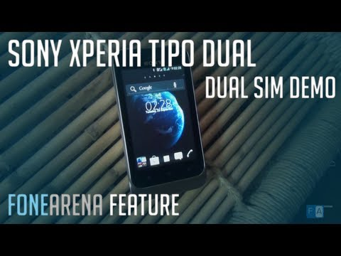 Sony Xperia Tipo Dual - Android 4.0 Dual SIM Phone