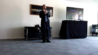 Claudia Christian 24th Oct 2010 at Auckland